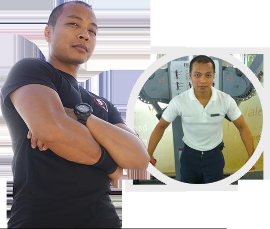 Personal trainer ariel
