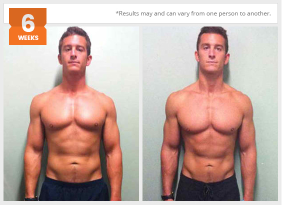 Personal training - before and after