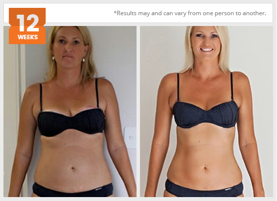Befit client result