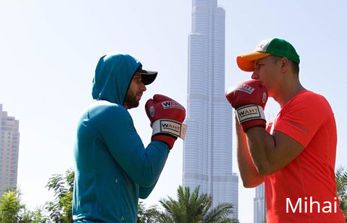 boxing trainer Dubai