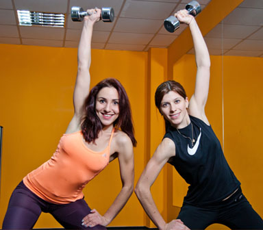 Female Personal trainer