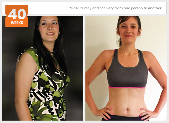 Personal trainer client result