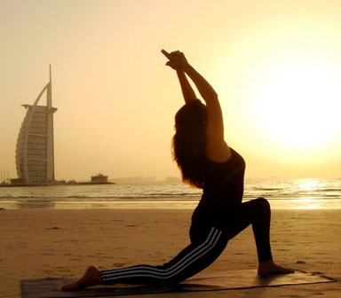 Personal training in dubai for yoga