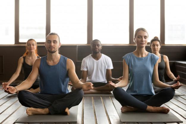 Yoga Class In Dubai